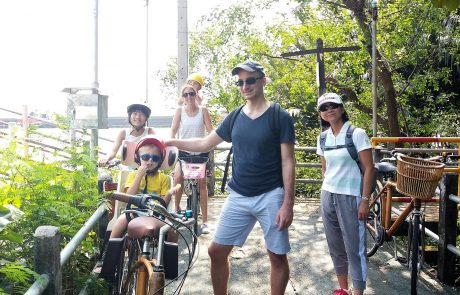 Bicycle fun for the whole family in Bangkok