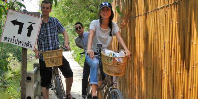 Family Bicycle Tour Bangkok